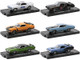 Auto-Drivers Set of 6 pieces Blister Packs Release 74 Limited Edition 8480 pieces Worldwide 1/64 Diecast Model Cars M2 Machines 11228-74