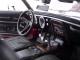 1968 Chevrolet Camaro Coupe Z/28 Maroon 1/18 Diecast Model Car Maisto 31685