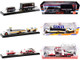 Auto Haulers Coca-Cola Set of 3 pieces Release 9 Limited Edition 6400 pieces Worldwide 1/64 Diecast Models M2 Machines 56000-TW09