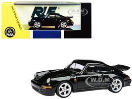 1987 RUF CTR Yellowbird Black 1/64 Diecast Model Car Paragon PA-55292