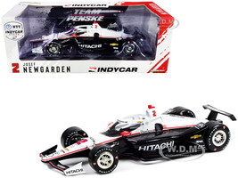 Dallara IndyCar #2 Josef Newgarden Hitachi Team Penske NTT IndyCar Series 2021 1/18 Diecast Model Car Greenlight 11107