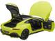 2019 Aston Martin Vantage RHD Right Hand Drive Lime Essence Green Carbon Top 1/18 Model Car Autoart 70279