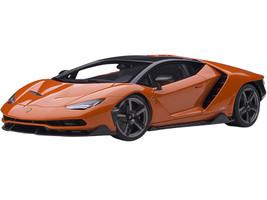 Lamborghini Centenario Arancio Argos Pearl Orange Carbon Top 1/18 Model Car Autoart 79201