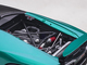 Lamborghini Centenario Verde Artemis Green Metallic Carbon Top 1/18 Model Car Autoart 79202