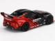 Toyota Pandem GR Supra V1.0 Black Red Advan SEMA Show 2019 Limited Edition 3000 pieces Worldwide 1/64 Diecast Model Car True Scale Miniatures MGT00207