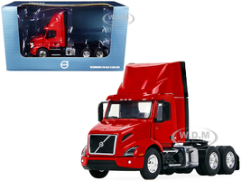 Volvo VNR 300 Day Cab Roof Fairing Truck Tractor Crossroad Red 1/50 Diecast Model First Gear 50-3460