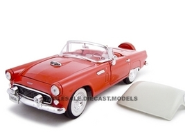 1956 Ford Thunderbird Red 1/24 Diecast Car Unique Replicas 18505