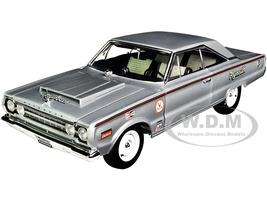 1967 Plymouth Belvedere Lightweight Silver Bullet Limited Edition 564 pieces Worldwide 1/18 Diecast Model Car ACME A1806704