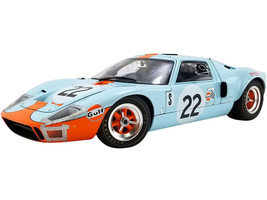 Ford GT40 MKI #22 Jacky Ickx Jackie Oliver Gulf Oil Champion 12 Hours Sebring 1969 The Masterpiece Collection Limited Edition 112 pieces Worldwide 1/12 Diecast Model Car GMP ACME M1201007