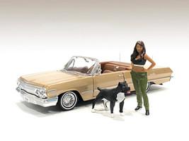 Lowriderz Figurine IV Dog 1/24 Scale Models American Diorama 76376