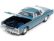 1975 Cadillac Eldorado Jennifer Blue White Roof Back Section Luxury Cruisers Limited Edition 12920 pieces Worldwide 1/64 Diecast Model Car Autoworld 64312 AWSP070 B