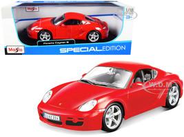 Porsche Cayman S Red 1/18 Diecast Model Car Maisto 31122