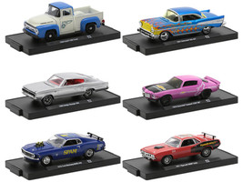 Auto-Drivers Set of 6 pieces Blister Packs Release 73 Limited Edition 8480 pieces Worldwide 1/64 Diecast Model Cars M2 Machines 11228-73