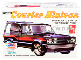 Skill 2 Model Kit 1978 Ford Courier Minivan 2-in-1 Kit 1/25 Scale Model AMT AMT1210 M