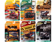 Street Freaks 2021 Set A of 6 Cars Release 1 1/64 Diecast Model Cars Johnny Lightning JLSF019 A