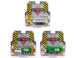 S.D. Trucks 3 piece Set Series 12 1/64 Diecast Models Greenlight 45120