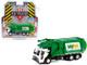 2020 Mack LR Refuse Garbage Truck White Green Waste Management S.D. Trucks Series 12 1/64 Diecast Model Greenlight 45120 C