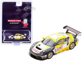 Porsche 911 GT3 R #99 Laurens Vanthoor ROWE Racing 2nd FIA GT World Cup Macau 2019 1/64 Diecast Model Car Sparky Y166B