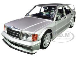 1990 Mercedes Benz 190E 2.5-16 Evolution II W201 Silver 1/18 Diecast Model Car Solido S1801005