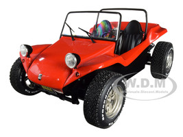 1968 Meyers Manx Buggy Convertible Red 1/18 Diecast Model Car Solido S1802704