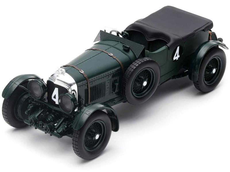 Bentley Speed Six #4 Woolf Barnato Glen Kidston Winner 24H Le Mans 1930 1/18 Model Car Spark 18LM30