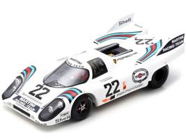 Porsche 917 K #22 Helmut Marko Gijs van Lennep Winner 24H Le Mans 1971 1/18 Model Car Spark 18LM71