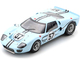 Ford GT40 Mk2B #57 Ronnie Bucknum Paul Hawkins 24H Le Mans 1967 1/18 Model Car Spark 18S471