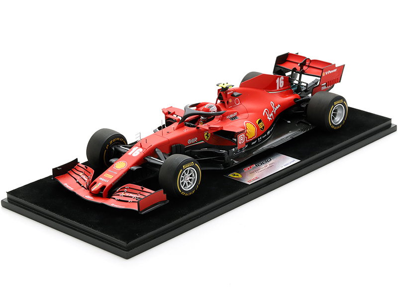 Ferrari SF1000 #16 Charles Leclerc 2nd Place Formula One F1 Austrian GP 2020 1/18 Model Car LookSmart LS18F1029