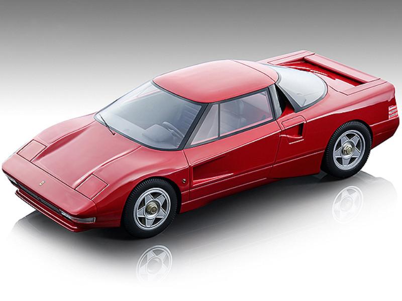 1987 Ferrari 408 4RM Gloss Ferrari Red Mythos Series Limited Edition 160 pieces Worldwide 1/18 Model Car Tecnomodel TM18-104 A
