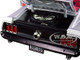 1969 Ford Mustang Boss 302 Street Fighter Redline Silver Red Interior Red Stripe Limited Edition 912 pieces Worldwide 1/18 Diecast Model Car ACME A1801842