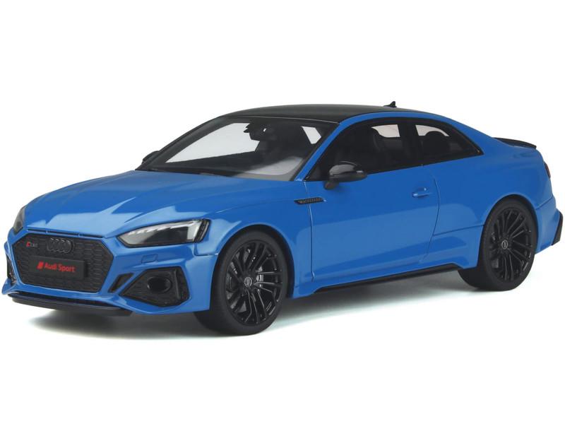 Audi RS 5 Coupe Turbo Blue Black Top 1/18 Model Car GT Spirit GT311