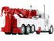 Peterbilt 389 Century 1150 Rotator Wrecker Tow Truck White Red 1/64 Diecast Model DCP First Gear 60-0882A