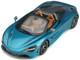 McLaren 720S Spider Convertible Belize Blue Metallic 1/18 Model Car GT Spirit GT304