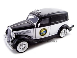 1935 Ford Sedan Delivery Kentucky Police 1/24 Diecast Car Unique Replicas 18518