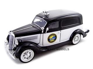 1935 Ford Sedan Delivery Kentucky Police 1/24 Diecast Car Unique Replicas 18518