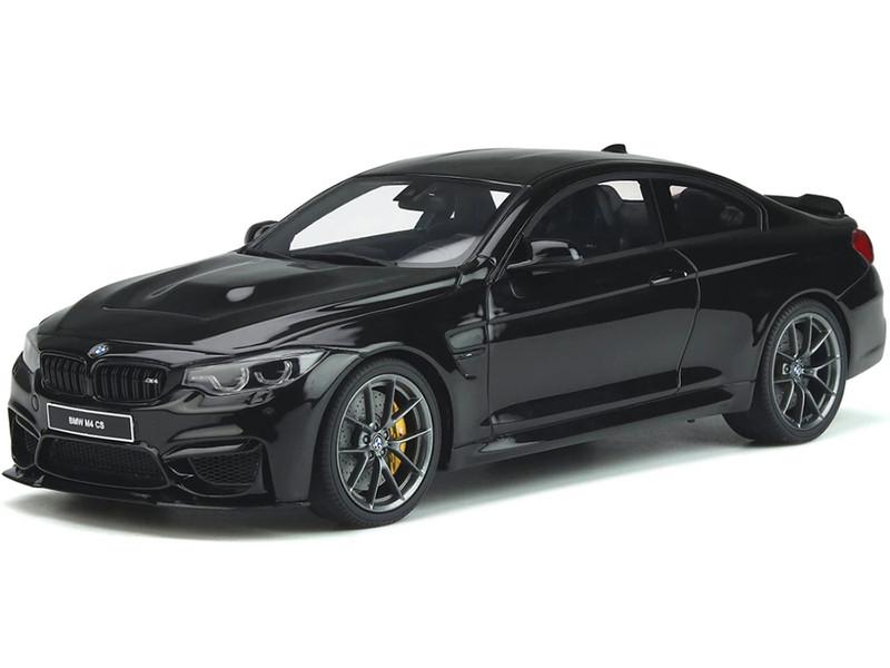 BMW M4 CS F82 Black Sapphire Carbon Top 1/18 Model Car GT Spirit GT845