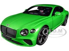 2018 Bentley Continental GT Apple Green Metallic 1/18 Diecast Model Car Norev 182784