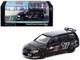 Mitsubishi Lancer Evolution Wagon RHD Right Hand Drive Ralliart Black Graphics 1/64 Diecast Model Car Tarmac Works T64-042-RLA