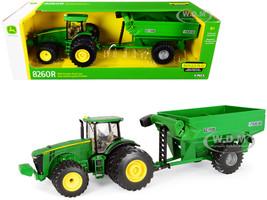 John Deere 8260R Tractor Frontier Grain Cart 1/32 Diecast Models ERTL TOMY 45482