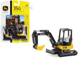 John Deere 35G Tracked Excavator 1/50 Diecast Model ERTL TOMY 45611