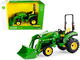 John Deere 2038R Tractor Loader Green 1/16 Diecast Model ERTL TOMY 45676