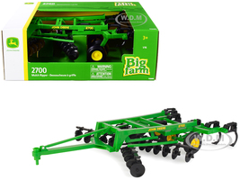 John Deere 2700 Mulch Ripper Green Big Farm Series 1/16 Model ERTL TOMY 45697