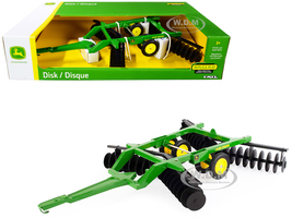 John Deere Disk Green 1/16 Diecast Model ERTL TOMY 45738