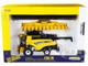 New Holland CR8.90 Combine Yellow Corn Head Draper Head Prestige Collection Series 1/32 Diecast Model ERTL TOMY 13874