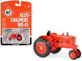 Allis-Chalmers WD-45 Tractor Orange 1/64 Diecast Model ERTL TOMY 16360