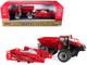 Case IH Trident 5550 Combination Applicator Red Prestige Collection Series 1/64 Diecast Models ERTL TOMY 44182