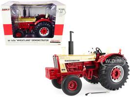 IH International 1456 Wheatland Demonstrator Tractor Gold Red Prestige Collection Series 1/16 Diecast Model ERTL TOMY 44186
