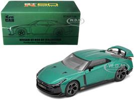 Nissan GT-R50 Italdesign Dark Green 1/64 Diecast Model Car Era Car NS21GTRSP49