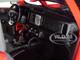 2021 Ford Bronco Wildtrak Red Black Top Special Edition 1/18 Diecast Model Car Maisto 31456