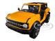 2021 Ford Bronco Badlands Orange Metallic Special Edition 1/18 Diecast Model Car Maisto 31457